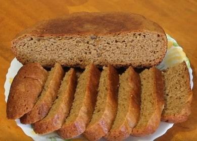 Vynikající žitný chléb vaříme v pomalém hrnci podle postupného návodu s fotografií.