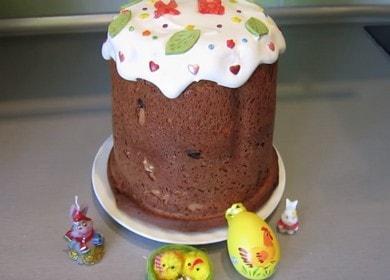 Ние печем вкусна извара от торта или кекс в машина за хляб според рецептата със снимка.