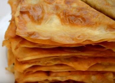 VALMIS maukkaita ja yksinkertaisia leivonnaisia pitaleipästä askel-askeleelta kuvan mukaan.