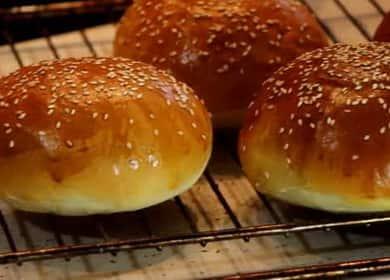 Булгери за бургер: рецепта стъпка по стъпка със снимка