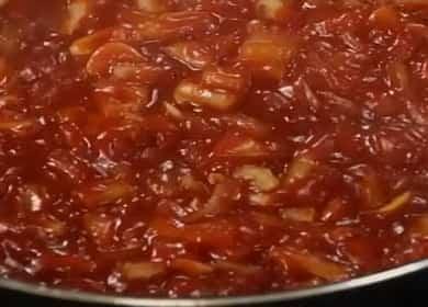 Voňavá rajčatová omáčka na špagety, těstoviny, těstoviny