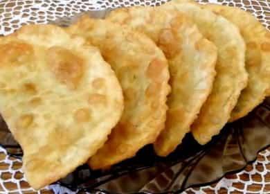 Chebureks juustoa askel askeleelta resepti kuva