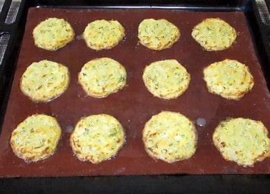 Приготвяме вкусни картофени палачинки във фурната по стъпка по стъпка рецепта със снимка.