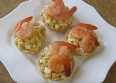 Lahodné koláče s krevetami na sváteční stůl 🦐