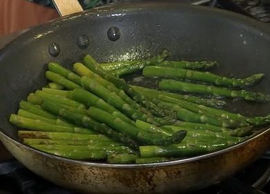 jak vařit chřest čerstvý zelený