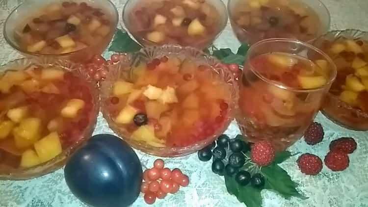 hedelmähyytelö valmis