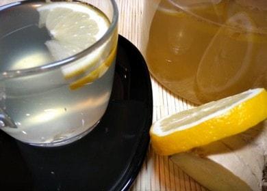 Zázvor správně vaříme s citronem: recept s fotografiemi krok za krokem na chutný a zdravý čaj.