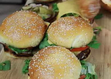 Класически хамбургер - по-вкусен от Макдоналдс