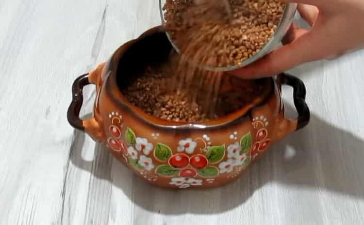Пригответе зърнени храни за готвене