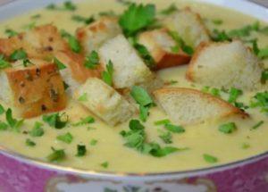 пригответе най-вкусния крем от супа от тиквички