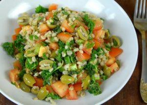 lahodný ječmenový salát
