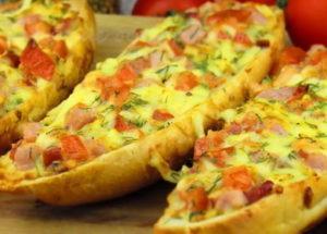 Horké sendviče podle postupného receptu s fotografií