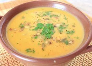 направете страхотна тиква пюре супа