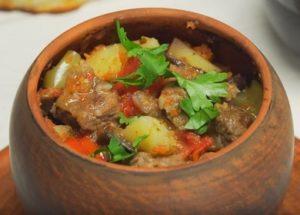 Voňavá kavkazská kuchyně: recept na chanakhs s fotografiemi krok za krokem.