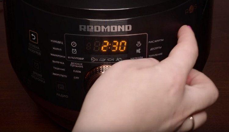 dejte na pomalý sporák chladicí režim na 2,5 hodiny.