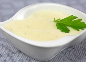 Recept na bílou omáčku na maso, ryby a zeleninu