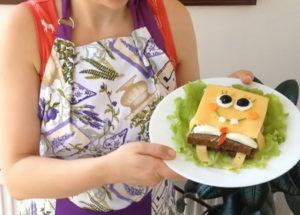 Сандвичи за деца Спонджбоб