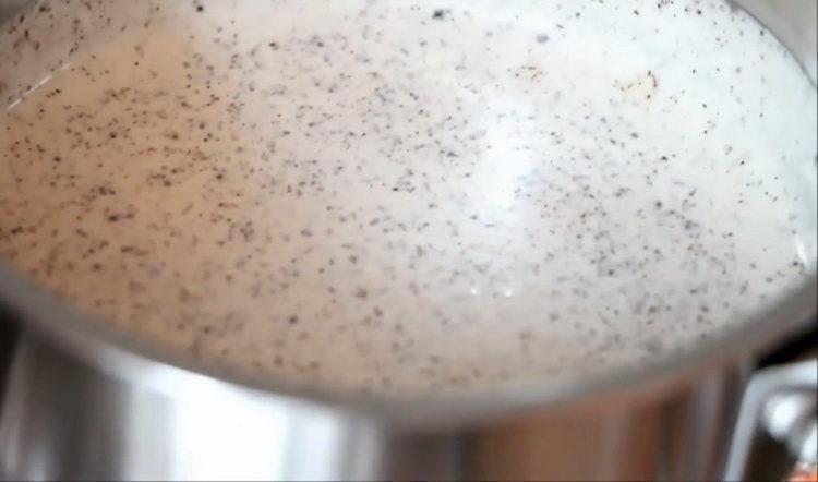 пригответе крема