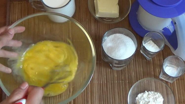 mlátit vejce