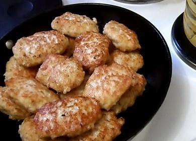 Ежные Нежни пилешки котлети с овесени ядки