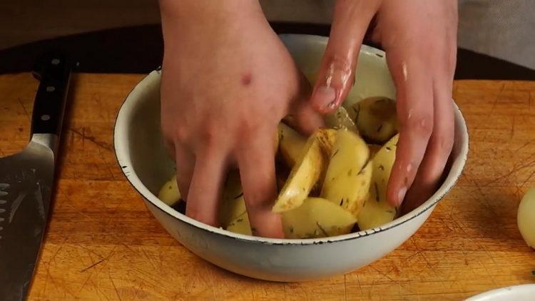 míchejte ingredience