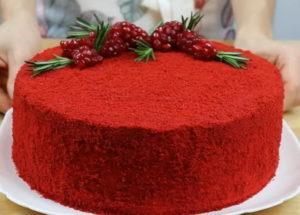 Světlé a chutné červené sametové dorty